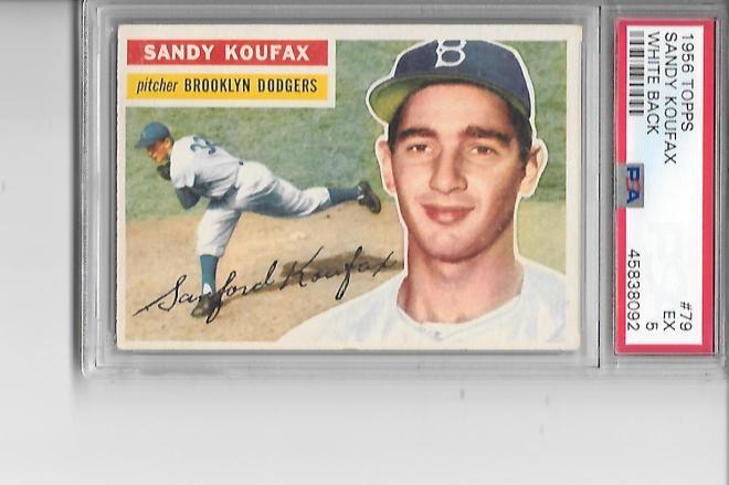 '56 Koufax 5 Tom